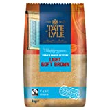 Tate and Lyle Fairtrade Light Soft Brown Sugar, 1kg
