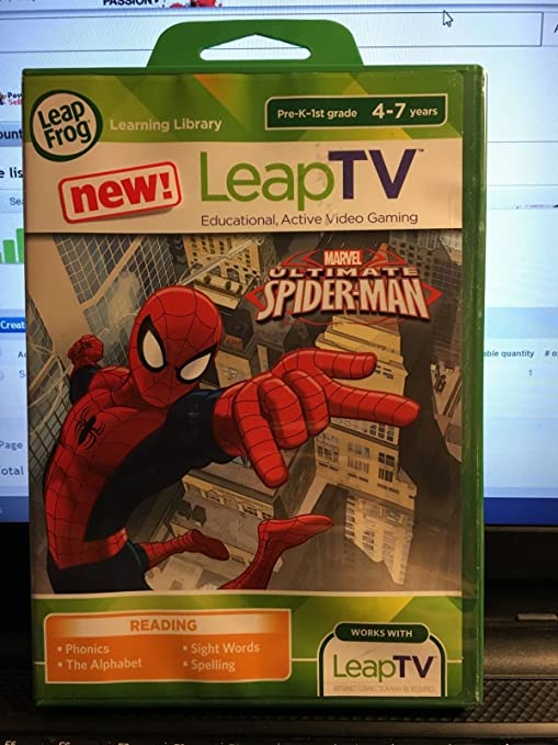 Toys & Games Active Video Game LeapFrog LeapTV Ultimate ...