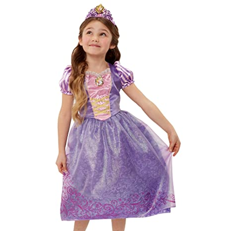 amazon com disney princess friendship adventures rapunzel dress 4