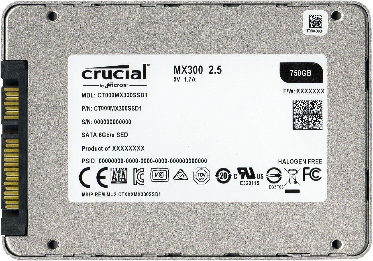 Crucial MX300 CT750MX300SSD1 - Disco Duro sólido Interno SSD de ...