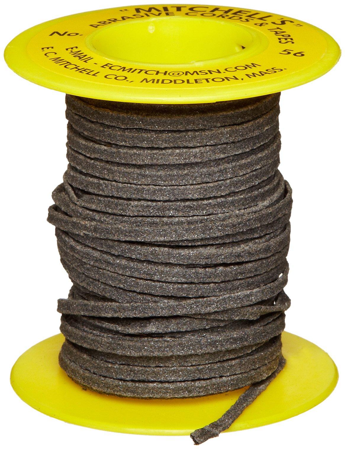 Mitchell Abrasives 56 Flat Abrasive Tape, Aluminum Oxide 150 Grit 3/32'' Wide x 25 Feet