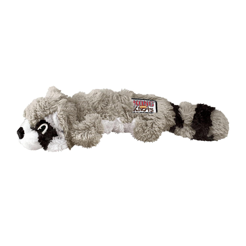 Pet Supplies Pet Squeak Toys KONG Scrunch Knots Raccoon Dog