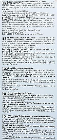 EcoMil, Bebida de almendra (Calcio) - 800 gr.: Amazon.es: Alimentación y bebidas