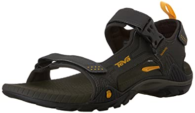 Official quality Mens Teva Original Universal Menswear Sandal Charcoal Grey Mens Charcoal Grey Teva Mens Teva