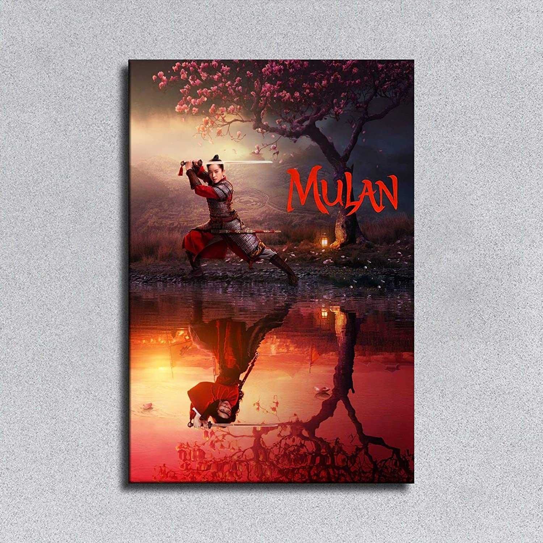 "New Giclée Art Print 2020 Disney/'s Movie Poster /""Mulan/"" Chinese Language"