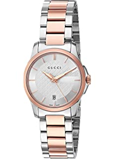 1979c746817 Gucci Swiss Quartz Stainless Steel Dress Two-Tone women s Watch(Model   YA126564)