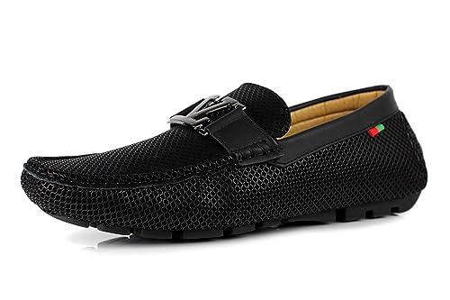JAS Hombre sin Cierres Mocasines Zapatos de Diseño Informal Conducción a la Moda: Amazon.es: Zapatos y complementos