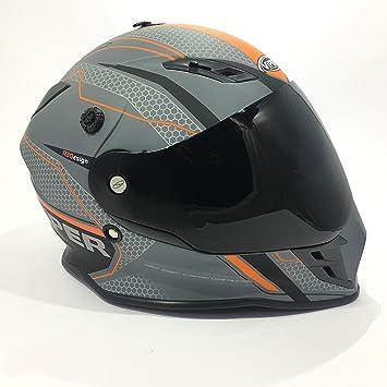 XS 53-54 CM Casque Motocross RX-V288 Ventura Homme ECE HOMOLOGU/É INT/ÉGRAL Enduro Femme Quad Motocross Adulte-Gris