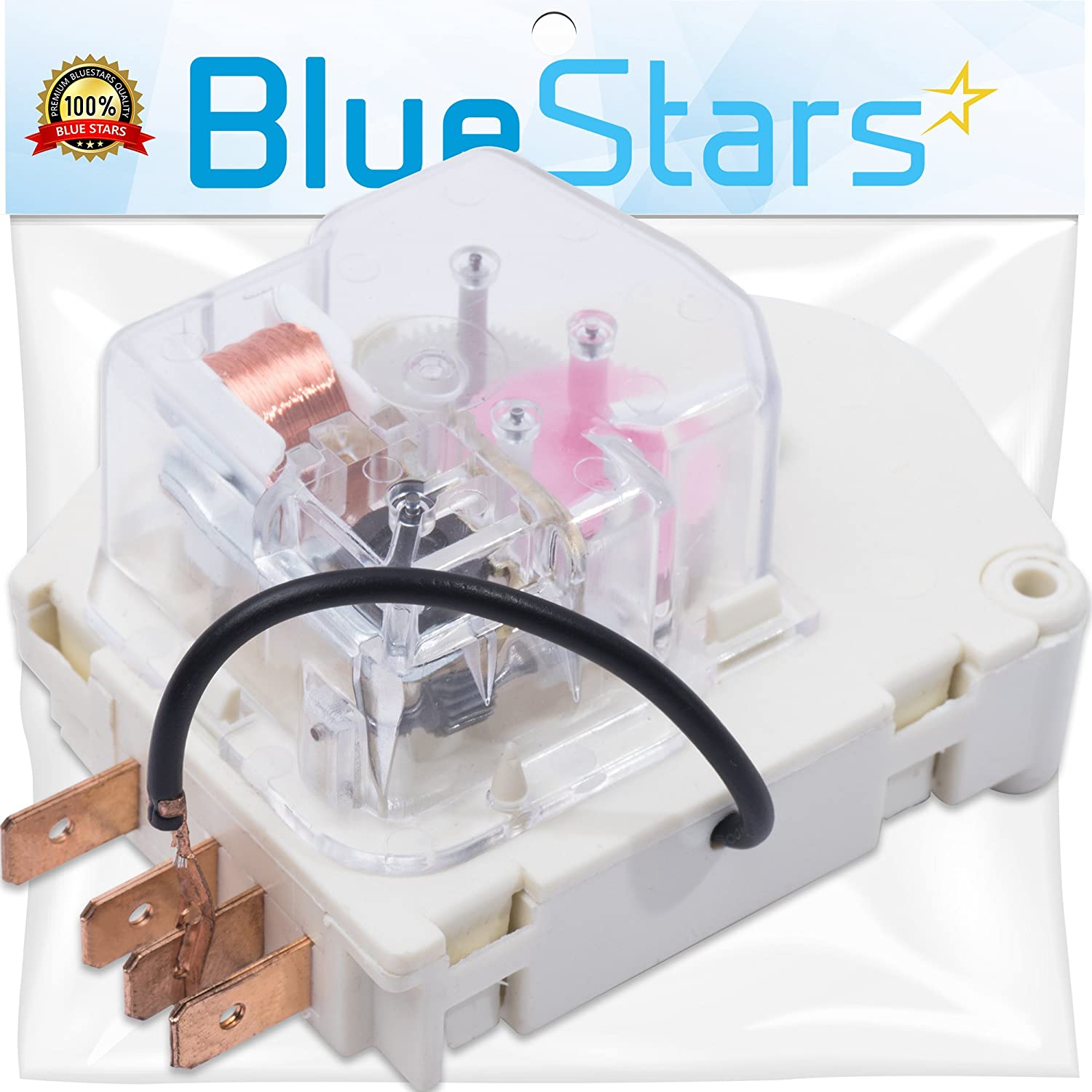 W10822278 Refrigerator Defrost Timer by Blue Stars - Exact Fit for Whirlpool KitchenAid Kenmore Refrigerator - Replaces PS11723171 945514 482493