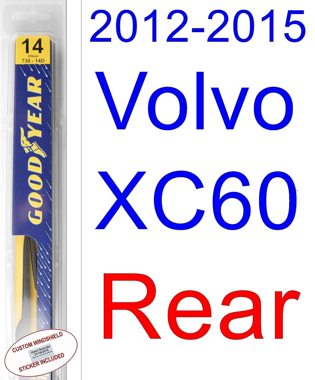 2012 - 2015 Volvo XC60 hoja de limpiaparabrisas de repuesto Set/Kit ...