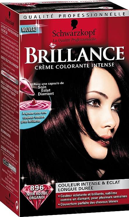 Coloration rouge pour cheveux noir