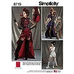 Simplicity US8719H5 Creative Patterns - Disfraz para mujer