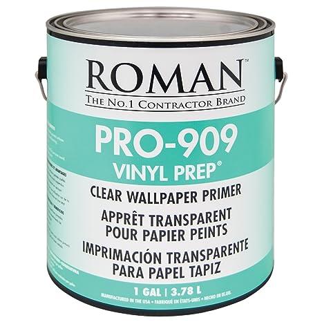 Roman 010201 Pro 909 Vinyl Prep Acrylic Wallpaper Primer 1 Gal