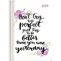 """Agenda giornaliera Style 2019 """"Better Today"""" 10,7x15,2 cm"""