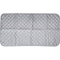 Portable Cotton Ironing Mat Foldable Heat-resistant Ironing Blanket Board Mat Pad for Home Travel Uses (48 85cm)