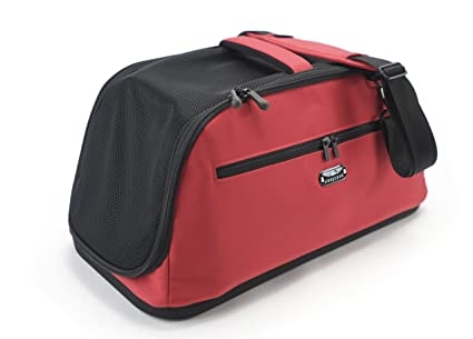 Gentil Sleepypod Air In Cabin Pet Carrier, Strawberry Red