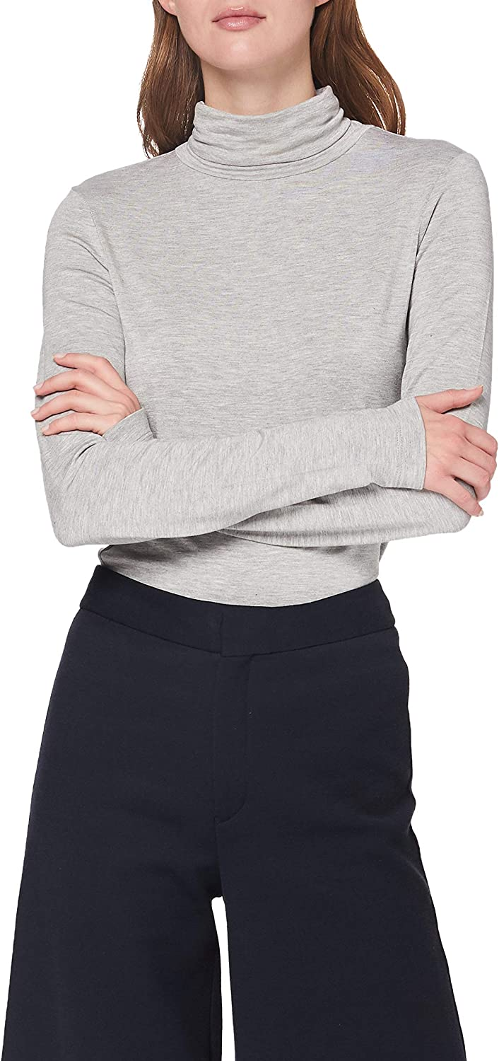 French Connection Venitia Jersey Split Cuff Top Camisa de Polo para Mujer
