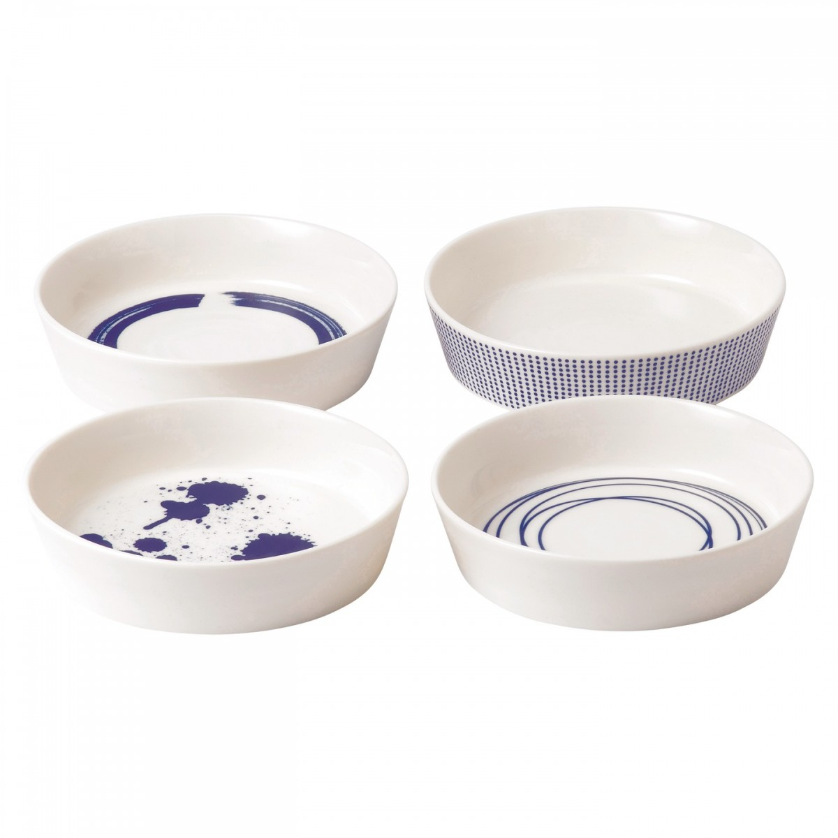 Pacific Round Serving Dishes, Set of 4 - Royal Doulton | US