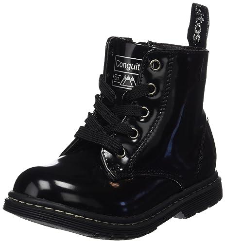 Conguitos HI129801, Botas para Niñas, Negro (Black), 28 EU