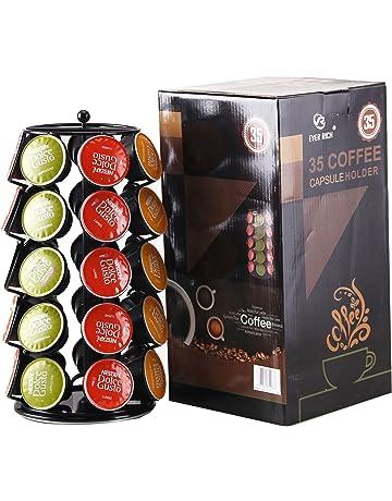 Ever Rich ® Dolce Gusto Soporte Giratorio para 24/32/35 cápsulas de café