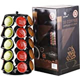 EVER RICH ® Dolce Gusto 24/35 Coffee POD Rotating Holder Rack (D&G Tower 35)