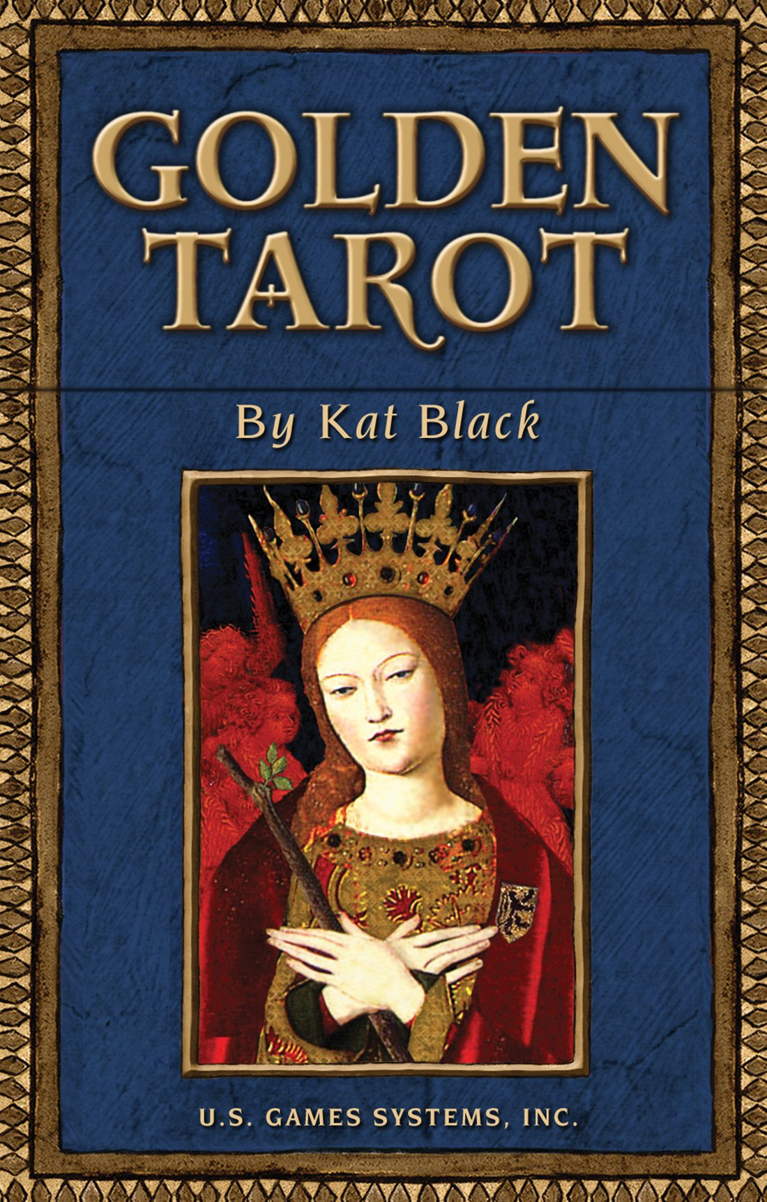 Golden Tarot (Inglés) Cartas – Edición coleccionista, 19 mar 2004 Kat Black U.S. Games 1572814349 Divination - Tarot