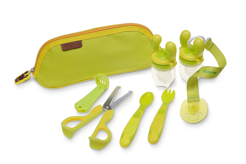 Kidsme Baby Mealtime Kit, Lime 9922