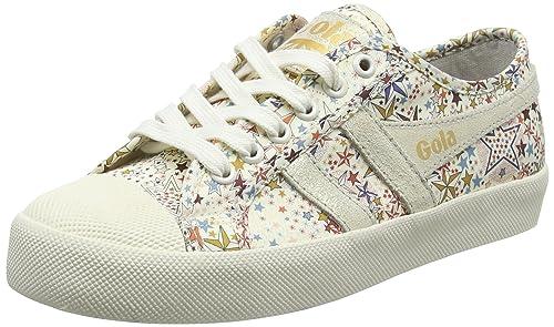 Gola Coaster Liberty AD Off White, Zapatillas para Mujer, Hueso Powder, 37 EU: Amazon.es: Zapatos y complementos