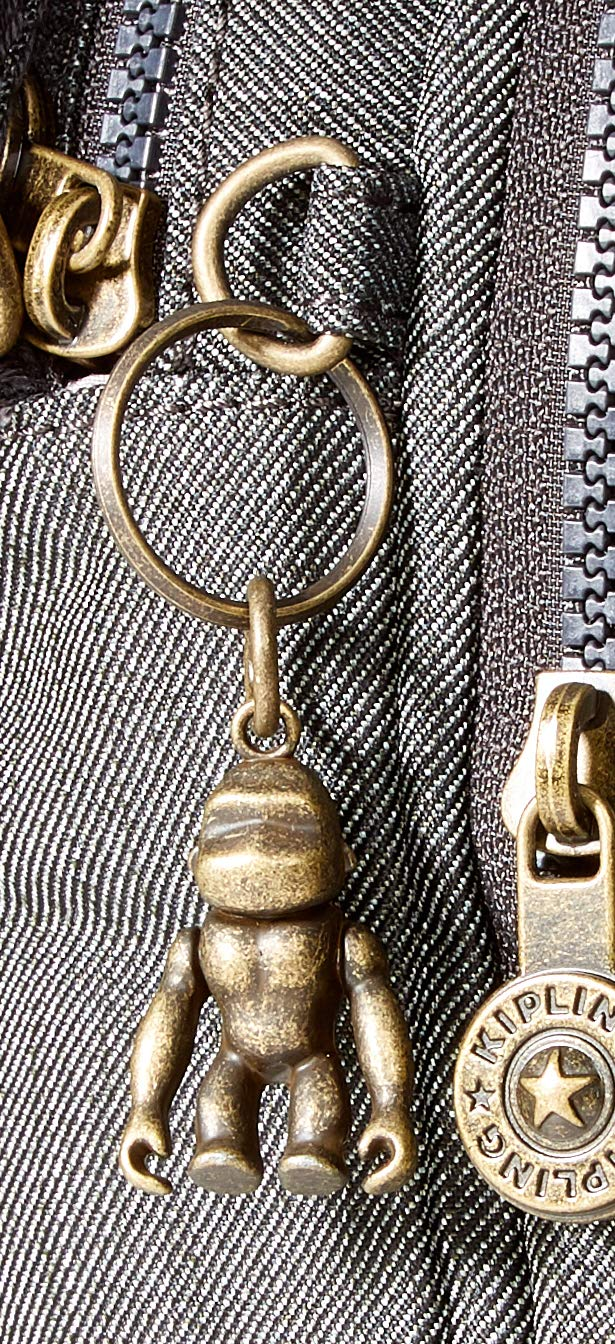 Kipling dam silver axelväska, 24 x 18 x 11 cm Svart (svart indigo)