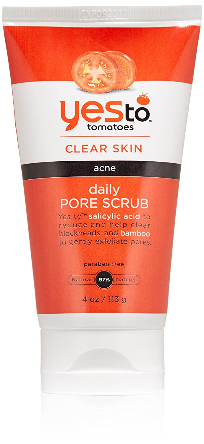 Yes To Tomato Face Scrub Daily 4 Ounces hhh-kyyy-tra-rat7419