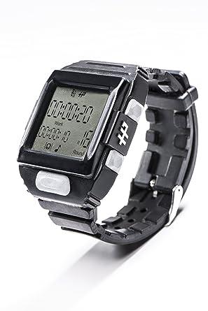 Hall Pass - Reloj temporizador de entrenamiento de intervalo de color negro: Hall Pass Watches LLC: Amazon.es: Relojes