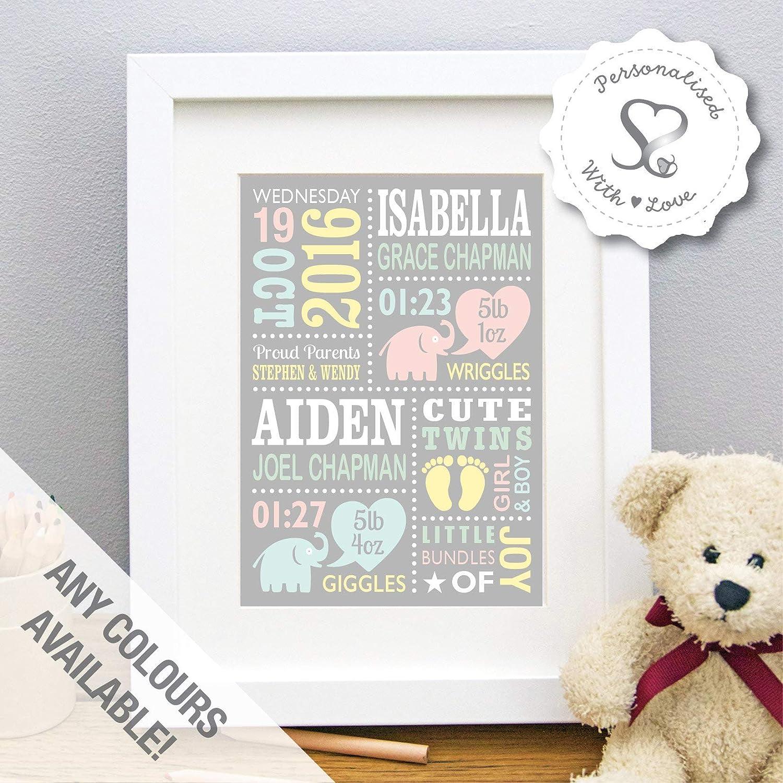 newborn What if I fall Print nursery christening gift