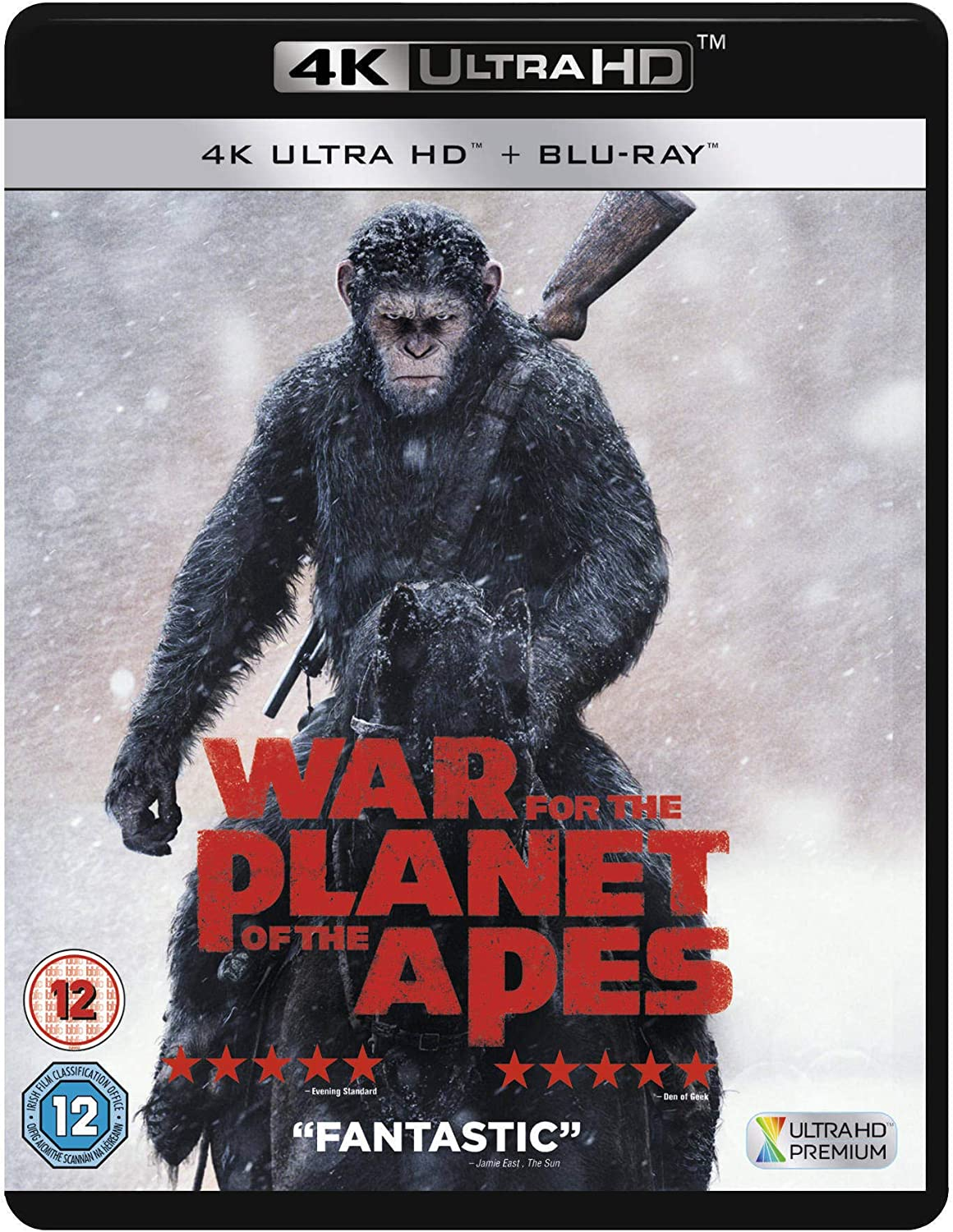 War For The Planet Of The Apes Uhd Blu Ray 2017 Amazon Co Uk Andy Serkis Woody Harrelson Steve Zahn Amiah Miller Karin Konoval Terry Notary Judy Greer Michael Adamthwaite Ty Olsson Gabriel Chavarria Michael