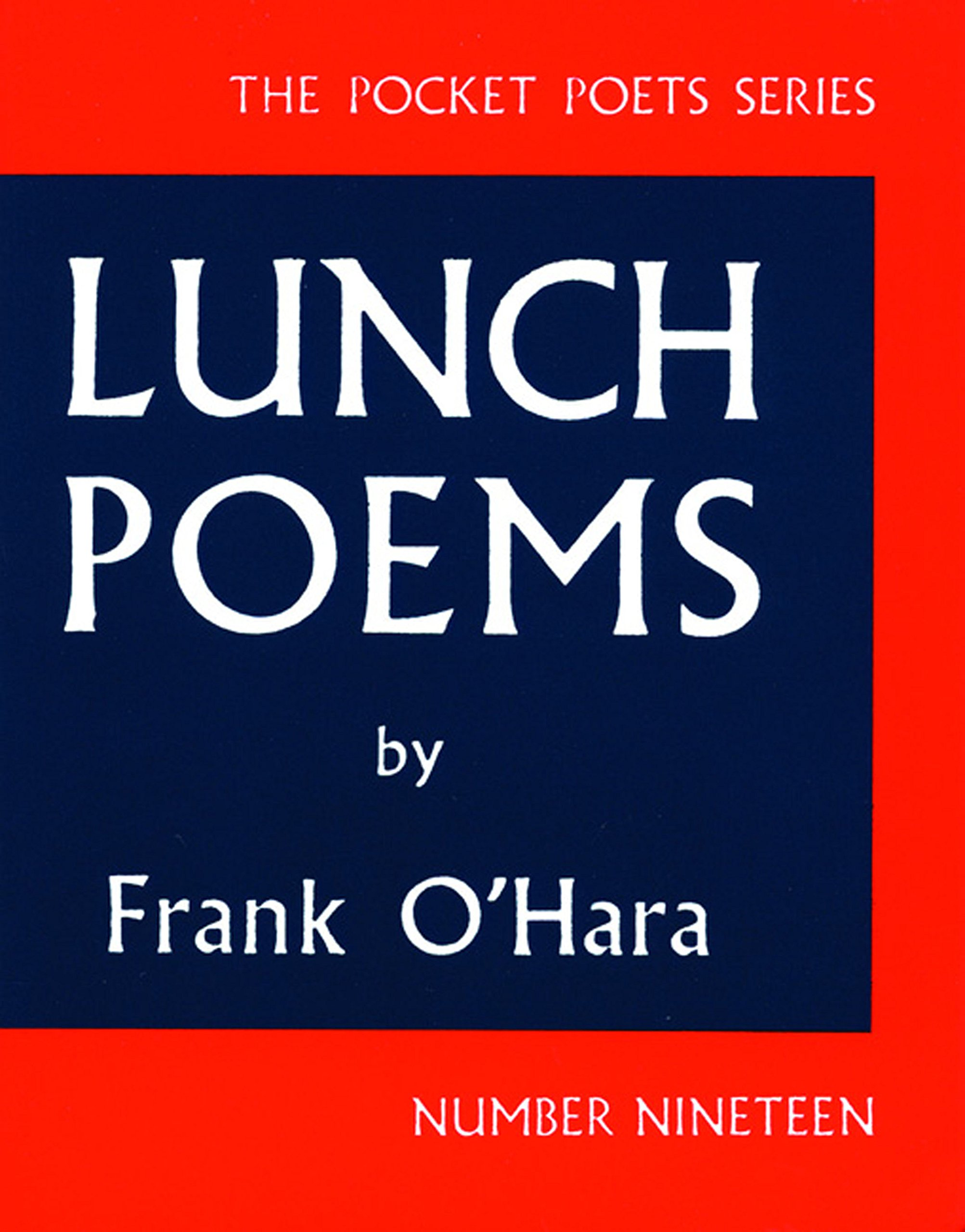 amazon lunch poems city lights pocket poets series frank o