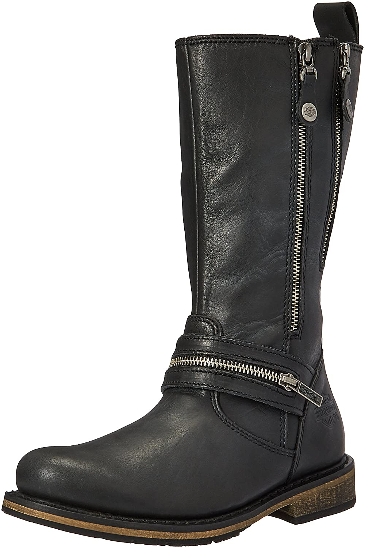 Harley-Davidson Women's Sackett Work Boot B01KVUT2SE 9.5 B(M) US|Black