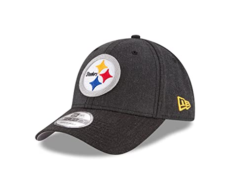 Amazon.com   New Era NFL Pittsburgh Steelers Heather Crisp 9FORTY ... 4d110bbcb