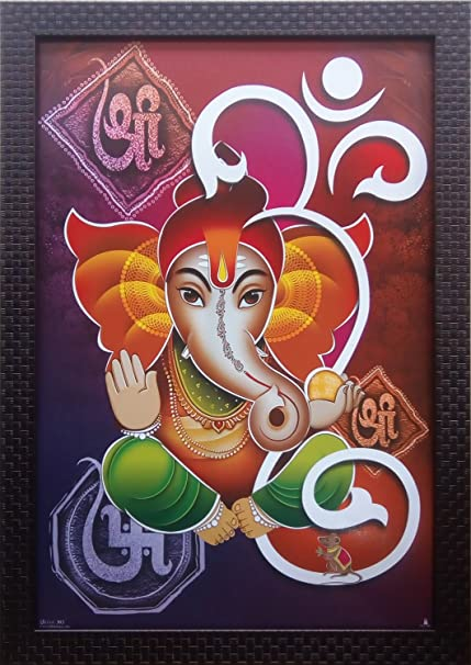 Buy Shree Handicraft Lord Ganesha Ganesh Ji Wall Decorative Frame