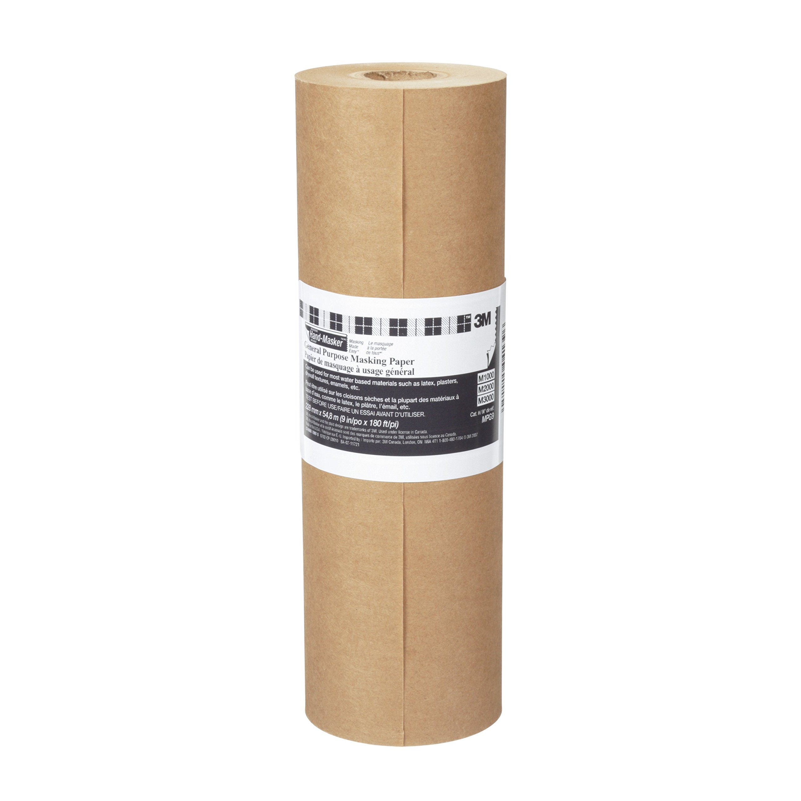 MPG18 3M Hand-Masker General Purpose Masking Paper, 18-Inch x 60-Yard