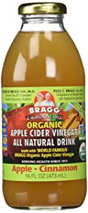 Bragg Organic Apple Cinnamon Apple Cider Vinegar Drink,16 Ounce -- 12 per case.