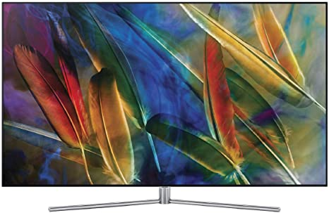c99aa445e Samsung 138 cm 4K Ultra HD Smart QLED TV QA55Q7F  Amazon.in  Electronics