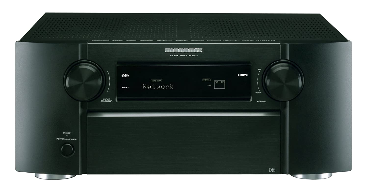 Amazon.com: Marantz AV8003 Networking Preamplifier (Discontinued by  Manufacturer): Electronics