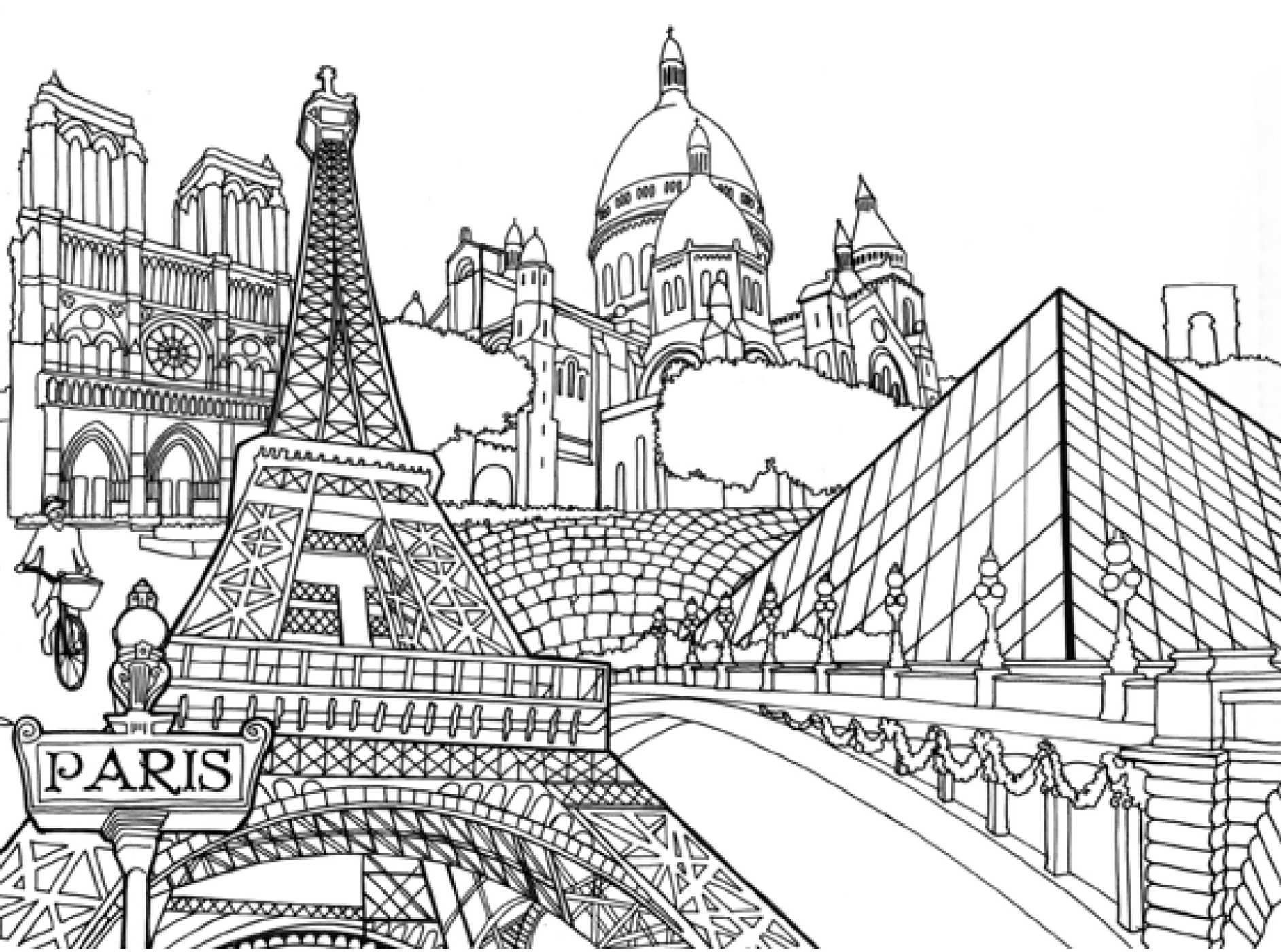 Paris coloring book for adults - Amazon Com Pocket Posh Panorama Adult Coloring Book Architecture Unfurled An Adult Coloring Book 0050837356603 Andrews Mcmeel Publishing Books