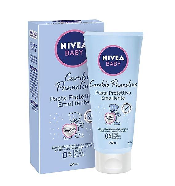 NIVEA Pasta Protectora Bebé Bebé Ml.80522 100 Línea: Amazon.es: Salud y cuidado personal