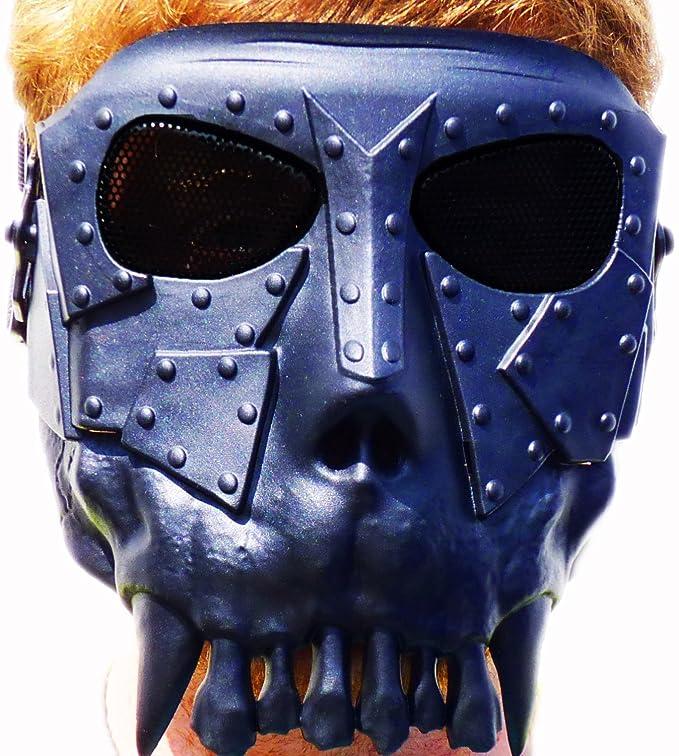 Metal orcos - máscara de Airsoft de alta calidad con gafas negras ...