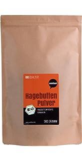Escaramujo polvo – Natural pura – sin gluten – Certificado bio calidad – rohkost Calidad –