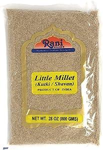 Rani Little Millet (Panicum Sumatrense) Whole Ancient Grain Seeds 28oz (800g) ~ All Natural | Gluten Friendly | NON-GMO | Vegan | Indian Origin | Kutki / Shavan / Saamai / Sama Kannada