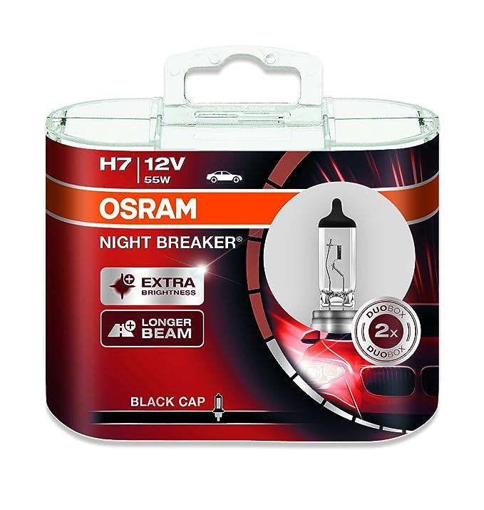 150 opinioni per Osram 64210nb-hcb notte interruttore, faro lampadina alogena H7, 12V, Duo box