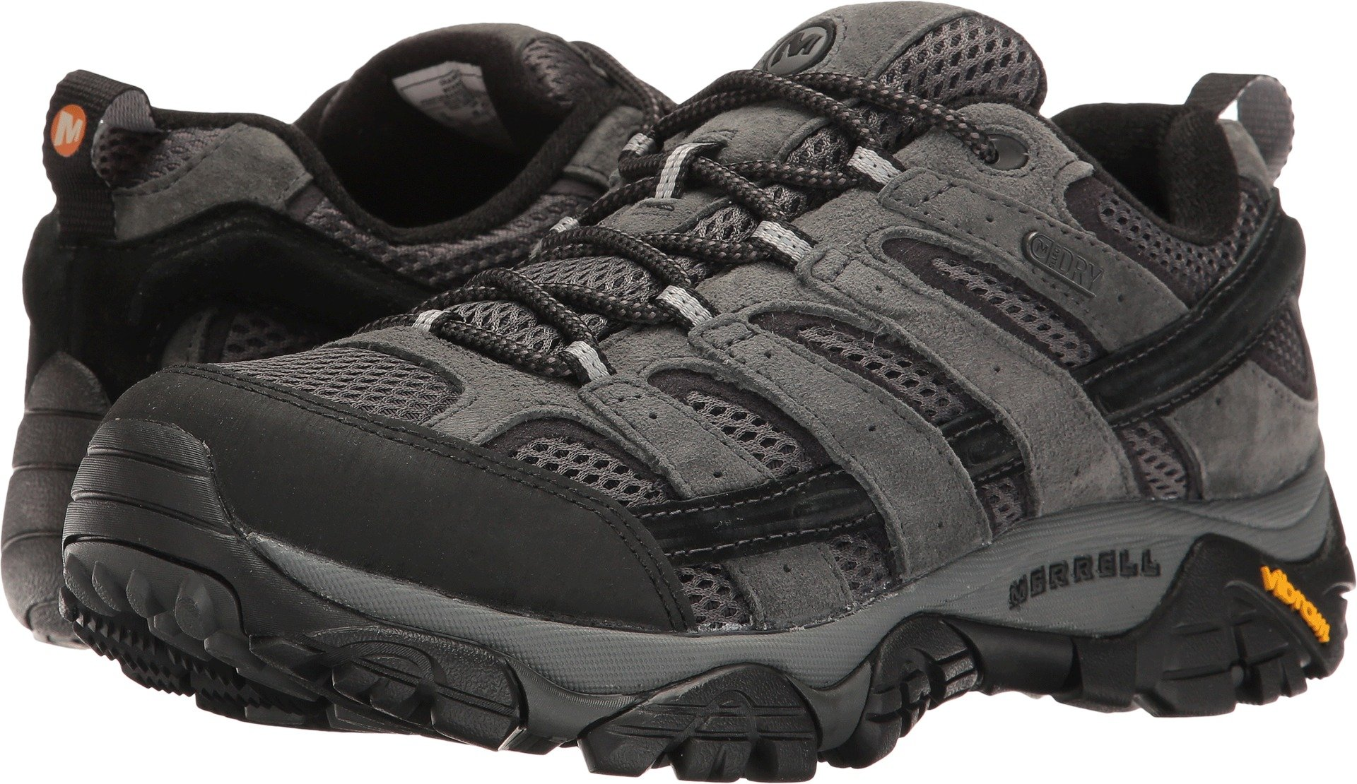 Merrell Men's Moab 2 Waterproof Hiking Shoe, Granite, 10.5 M US by Merrell