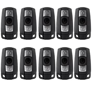 Remote Ignition Key Eccpp 10 Pcs Replacement Smart Keyless Entry