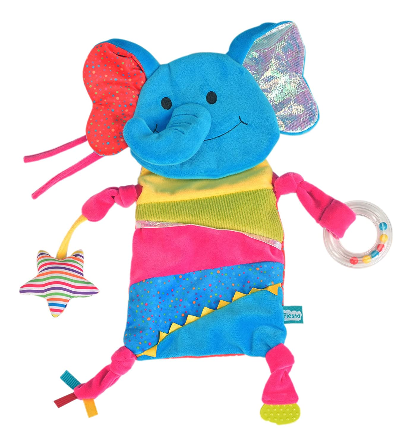 Fiesta Crafts T-2907 Elephant Play Blankie